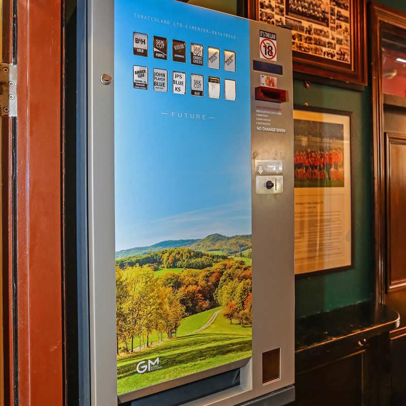 Pub and Hotel Cigarette Vending Machines
